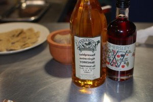Yorkshire Rapeseed Oil and Womersley Cherry Vinegar
