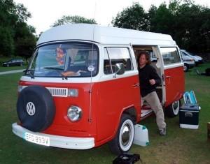 Martin Dorey One Man and his Campervan