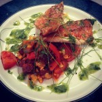 Red Mullet and Yorkshire Chorizo