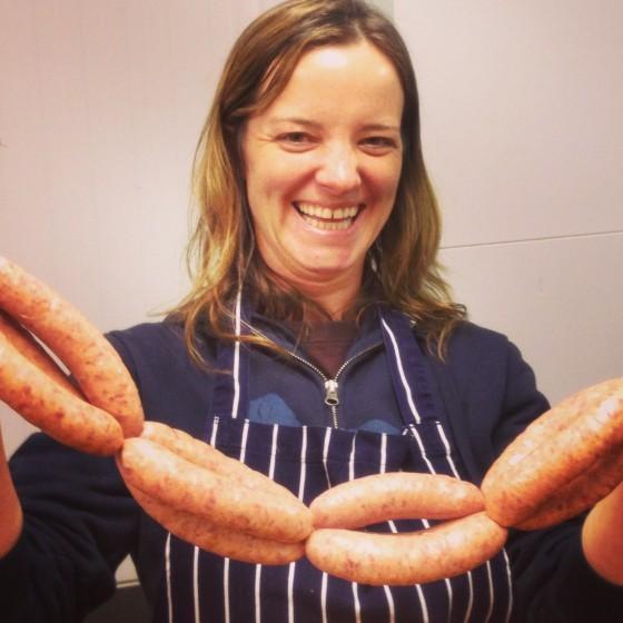 sausage making course fun