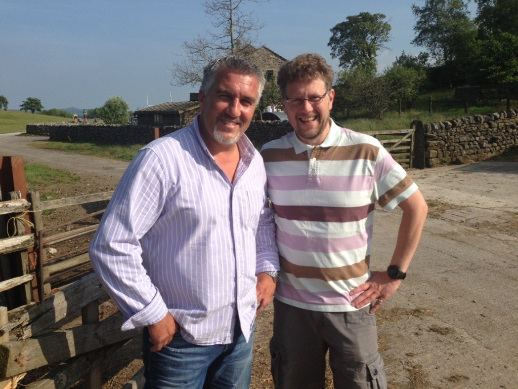 Paul Hollywood Chris Wildman BBC Pies N Puds Corned Beef Farm web