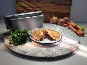 Paul Hollywood Chris Wildman BBC Pies N Puds Corned Beef Plate Pie
